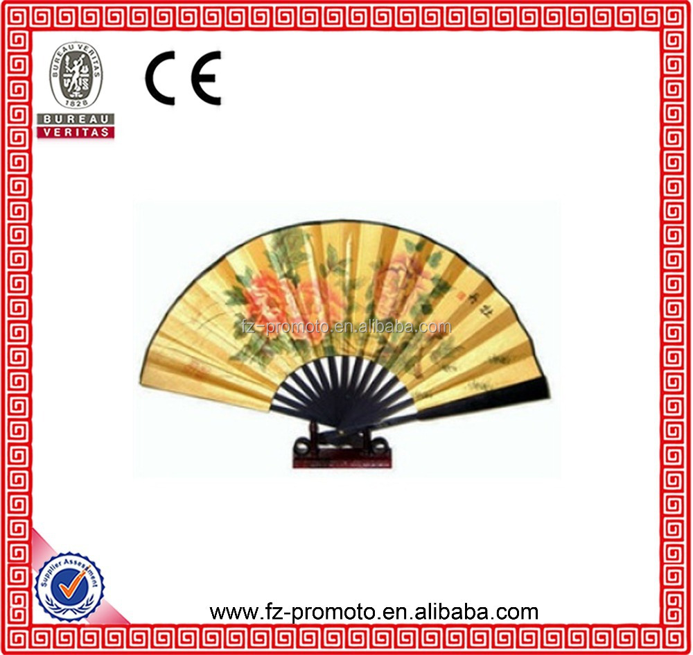 Japan Style Paper Fireworks Pattern Wedding Fan With Bamboo Handle ...