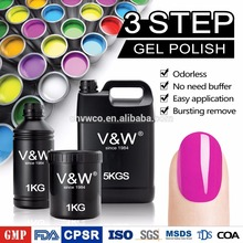 3000 colors of soak off UV gel polish with 32 years OEM sevices