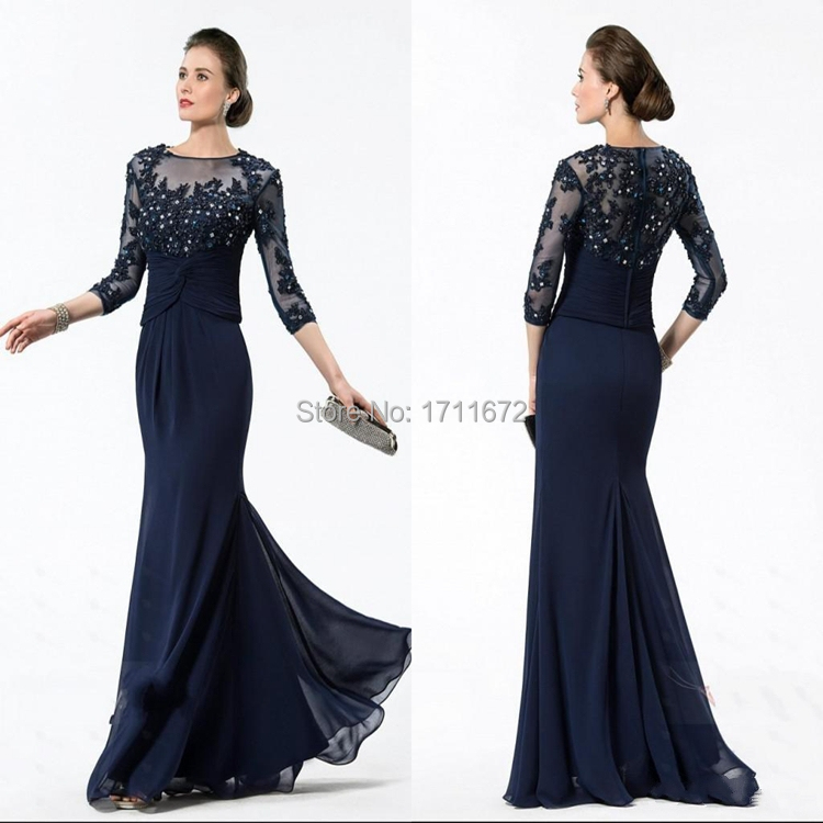 Get Quotations · 2015 Elegant Lace Groom Pants Suit Mermaid Mother of the  Bride Dresses Godmother With Sleeves Vestidos e7e559fc9e47