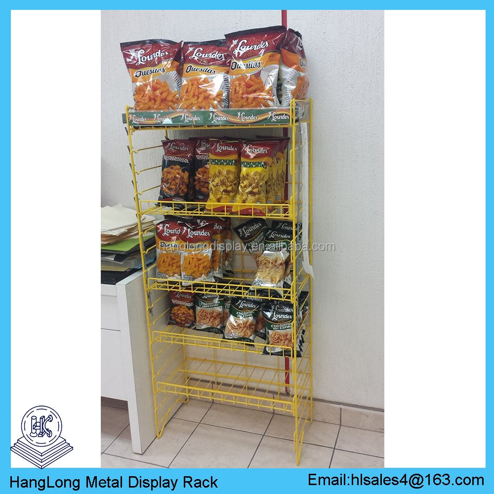 racks display snack rack
