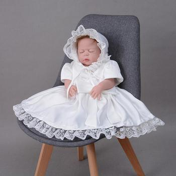 d5db692866336 2018 Newborn White Dress For Baptism Cap Sleeve Baby Girl Lace Christening  Gown Dress Toddler First Birthday Party Infant Wear - Buy Christening Gown  ...
