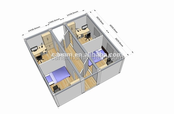 expandable modular container house