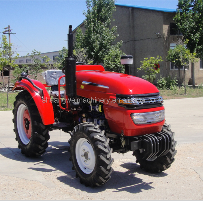 weifang SW machinery agricultural equipment 4wd 40hp farm tractor price for sale