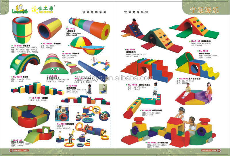 Kids Indoor Soft Modular Play Equipment For Home And Preschool ...