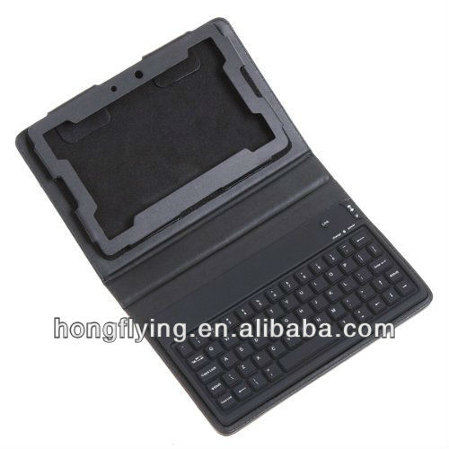 "Cool Keyboard Leather Cover Case for 7"" BlackBerry Playbook"