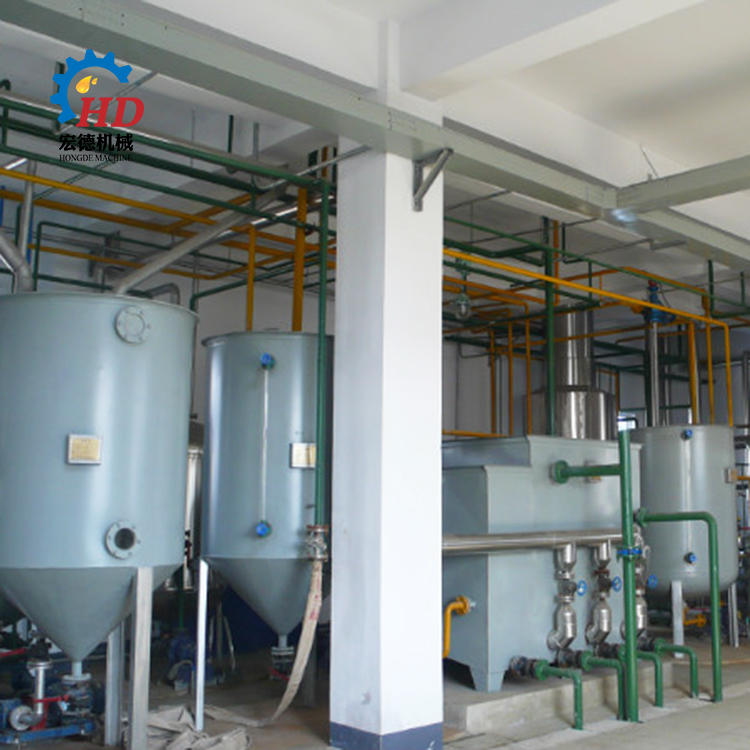 edible oil refinery plant small scale and edible oil refinery mill equipment with iso9001