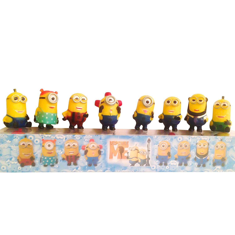 Despicable Me Minions Toys Set of 8 Action Figures, Miniature Toy Figures Minions Dolls Toys.