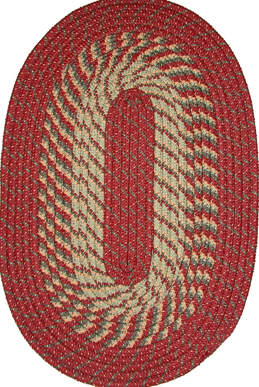 "Plymouth 22"" x 108"" (Runner) Braided Rug in Barn Red"