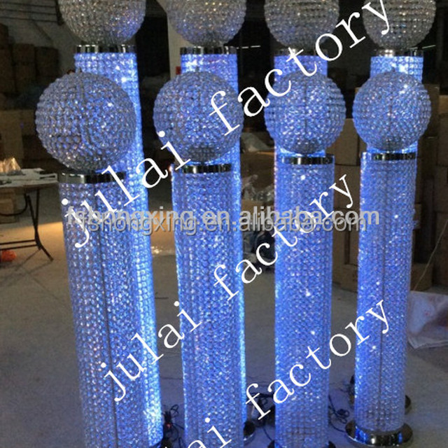 Fiber pillar column decorationindian wedding mandaps source quality diamond fiber wedding mandap decoration with diamond and crystal fitted fiber pillars from china junglespirit Choice Image