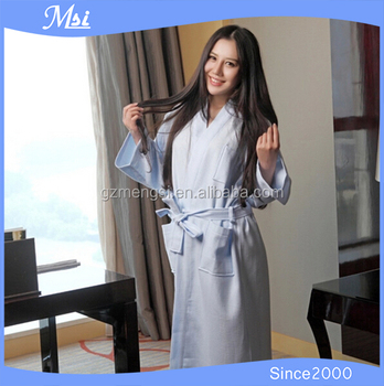 Hotel Funky Waffle Ladies Quilted Dressing Gowns Made In China ... : ladies quilted dressing gowns - Adamdwight.com