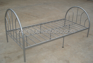 JJ-T0005 steel metal home furniture single deck bed