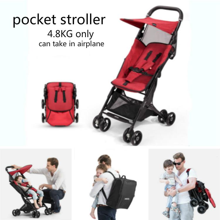 Oem Trolley New Model Baby Pocket Stroller Travel System