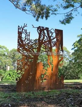 Charmant Corten Steel Garden Art