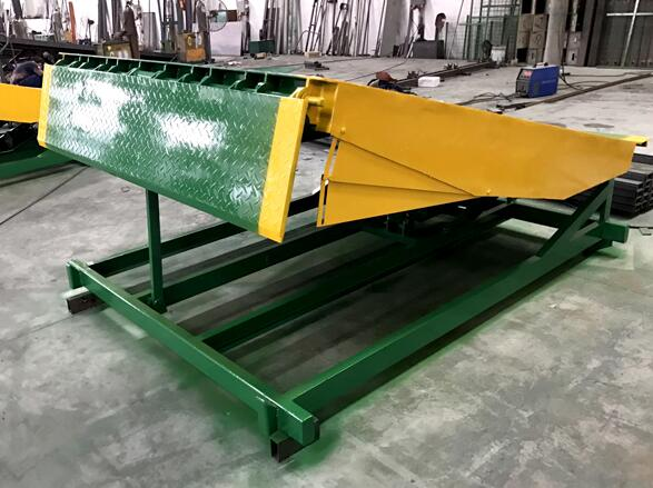 Fixed Type Hydraulic Container Load Dock Ramp 8ton 10ton 12ton Dock Electric Leveler Lift