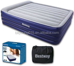 Bestway Night Right Queen Raised Inflatable Air Bed With Built-In Electric Pump And Pillow