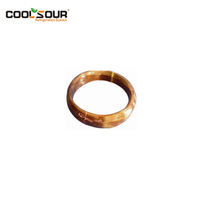 Coolsour copper capillary tube with brass nuts for airconditioning and refrigerator copper fitting