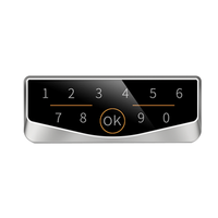 Dusun keyless electronic cabinet lock by APP/Password/Card for public storage management