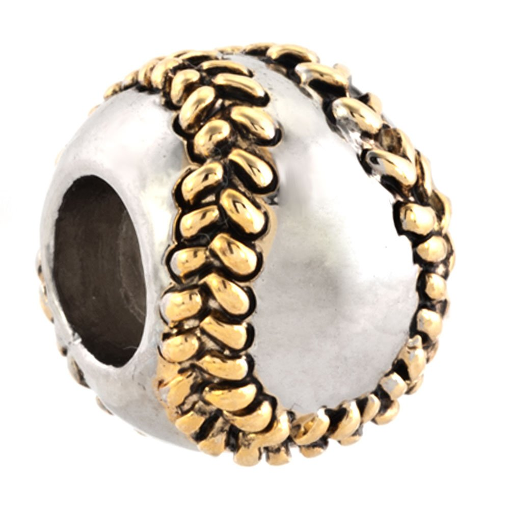 Baseball Charm I Love Sports Jewelry Sale Cheap New Beads Fits Pandora Charms Bracelets