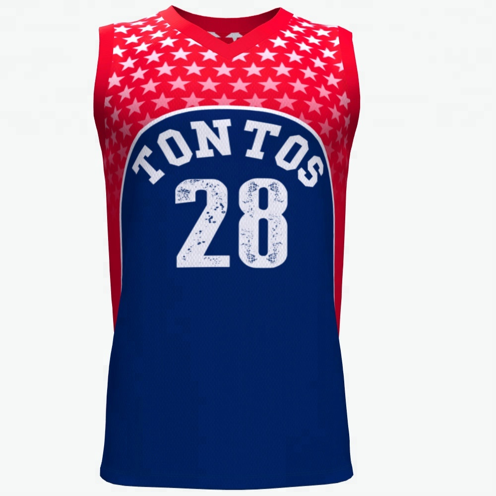 Nach maß beliebte basketball uniform sublimation basketball jersey
