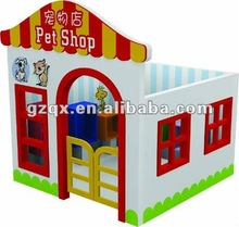 kids pet shop play house QX-B6801