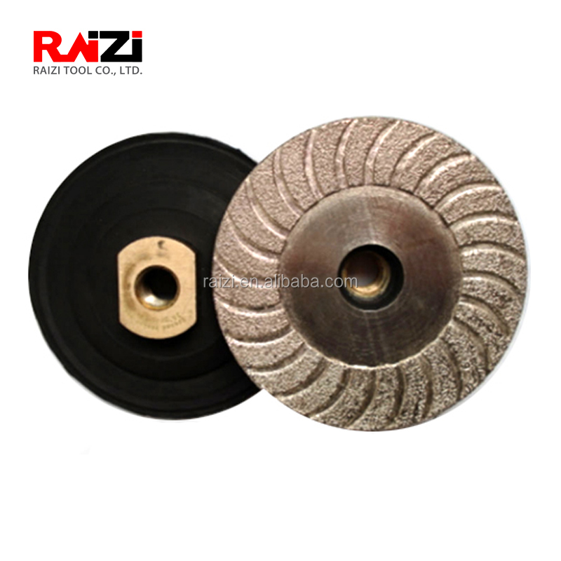 "4/"" Brazed Lippage Removal Diamond Grinding Polishing Pad Disc"