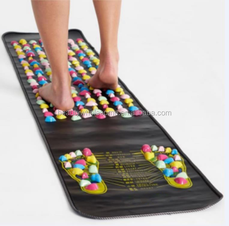 Health Care Pain Relief Acupressure Body Foot Massage Mat for Blood Circulation