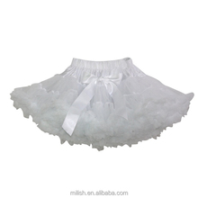 solid colour baby girl cute white tutu dress christmas pettiskirts MP-0021