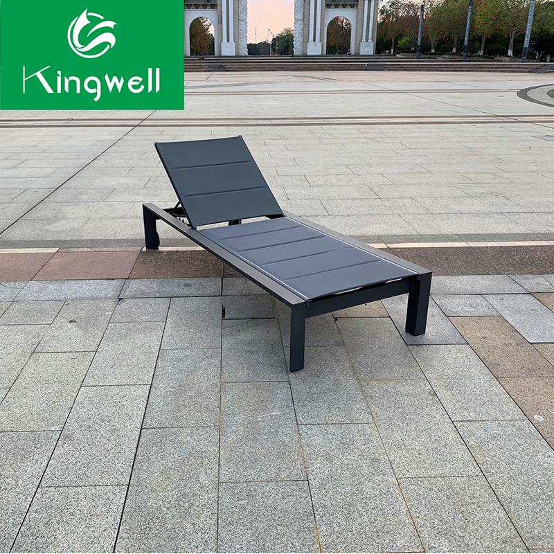 Garden Outdoor Furniture Aluminum Sun Lounge Chair ...
