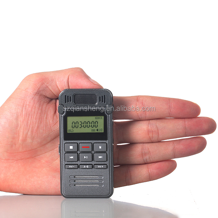 Mini 8GB Digital Voice Recorder Dictaphone Rechargeable Recording Pen Sound Audio Recorder