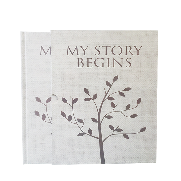 New design fancy high quality SGS certificate baby memory book CMYK / four color printing