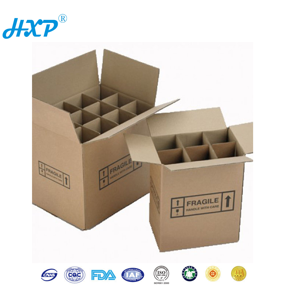 Cheap Price Corrugated Shipping 6 Bottle Cardboard Wine Box - Buy ...
