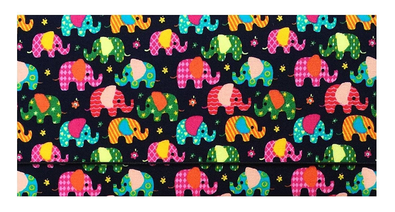 buy small elephants cotton checkbook cover for top tear checks