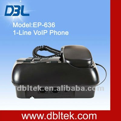 New VoIP phone/EP-636/Free international call/H.323&SIP