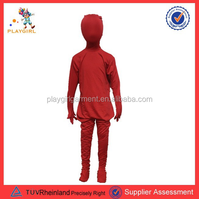 PGMC-0093 Red morph suit second skins children costume halloween ghost costume