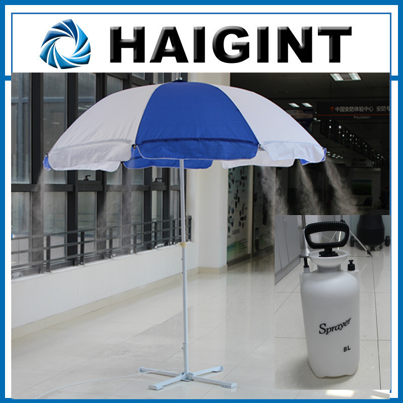 E1483 Mist Umbrella ,2014 Promotional Hot Sale Outdoor Misting Garden  Umbrellas