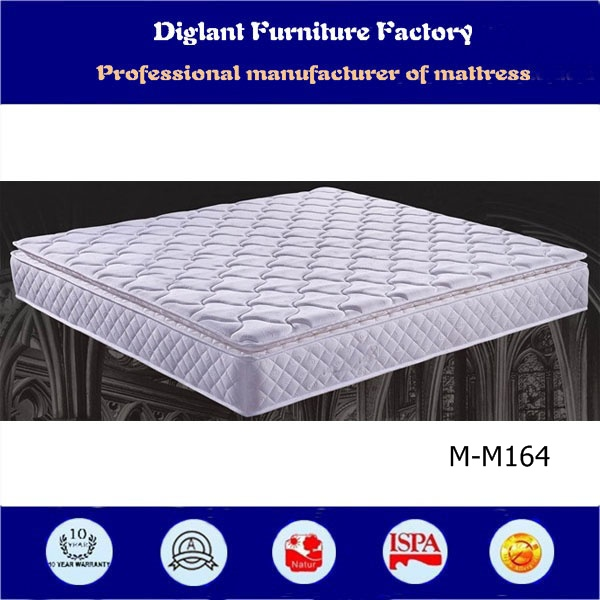 Two side sleeping continuous spring bed mattress concrete mattress
