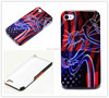 Cheap deal high quality US Flag Statue of liberty design cell phone case cover skin for iphone 4 4g 4s case