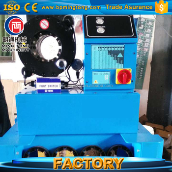 CE 1/8''-2'' finn power crimper machine, P52 high pressure rubber hose  crimping tool, View used hydraulic hose crimping machine, Mingtong Product
