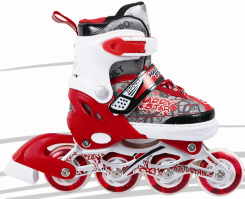 Happy star stitching shell sport inline skate