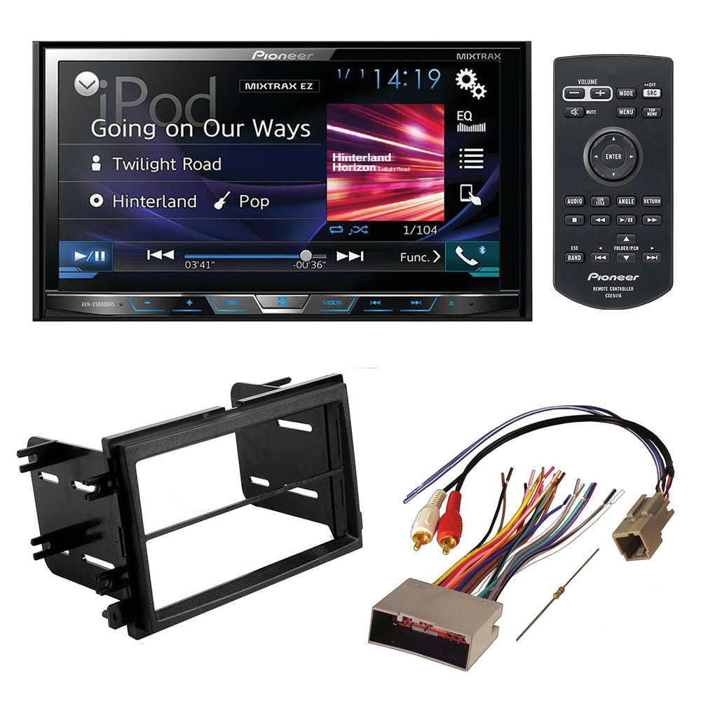 Cheap Pioneer In Dash Stereo Find Deals On Car Head Unit Wire Harness Same As Computer Get Quotations Avh X5800bhs Aftermarket Installation Kit W Wiring For Select