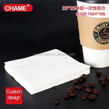 pas cher logo imprimé personnalisé papier serviette de table - buy