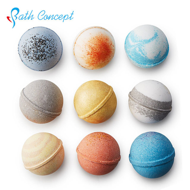 Bathconcept custom shape/color bubble bars soap for kids