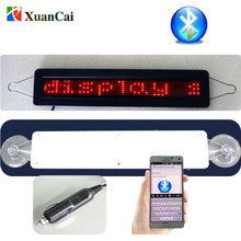 New! Mobile phone Bluetooth Mini 740 LED Sign LED programmable moving message sign LED electrical scrolling message board
