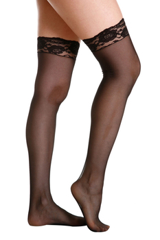 faf18d4e2b4 Beauty s Love sexy mesh nylon women s stockings lingerie calza lace top sheer  thigh high silk stockings