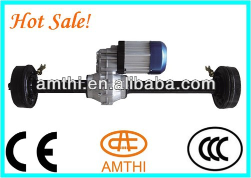 electric tricycle rear axle, high power tricycle motor rear differential axle, 3000w electric 2 speed vehicle axle, AMTHI