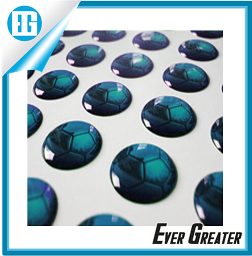 Custom Make Epoxy Resin Sticker 3d Gel Domed Decals Dome
