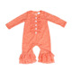 Wholesale fall baby clothes kids wear bodysuit boutique lace girls romper