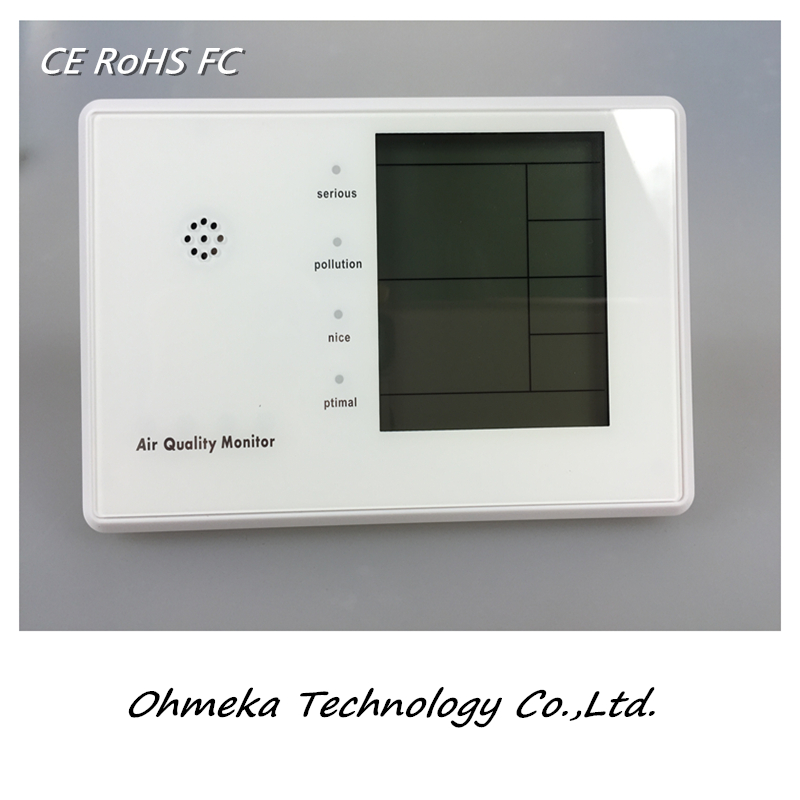 China factory supply wholesale Handheld indoor air quality monitor /low price Digital wireless Wifi temperature