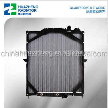 ALUMINUM PLASTIC TRUCK RADIATOR FOR VOLVE SELL EUROPEAN MARKET