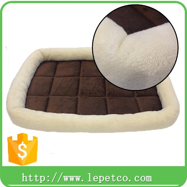 factory wholesale Eco-friendly Plush pp Cotton Durable Dog Blanket Pet Cushion Cat Bed Soft Warm Sleep Mat